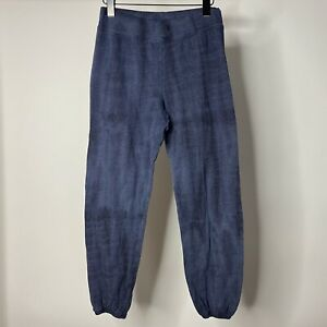 Sundry Women's sz 1 / Small Joggers Blue Tie Dye Pull On Comfort Sweatpants