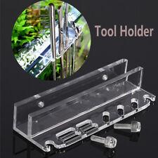 Werkzeugablage Schere Wasserpflanze Reinigung Lagerregal Aquarium Halter Rack