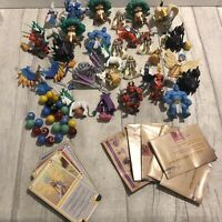 Might and Magic Board Game Spares Job Lot Accessories Figures Marbles Cards