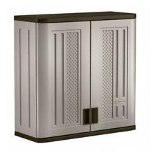 "Resin Storage Cabinet Locker Garden Pool Yard Utility Garage Patio Outdoor 30"""