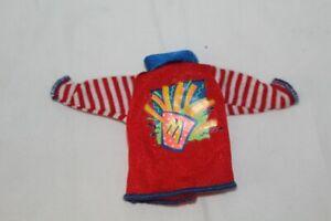BARBIE DOLL CLOTHING STACIE McDonalds Red Long Sleeve Top Shirt Uniform