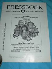 Vintage When Time Ran Out Movie Press Book Ad 1980 Paul Newman Bisset Holden