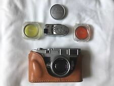 LEICA M3 – 915345 LATE DOUBLE STROKE, 50mm f/2.0 SUMMICRON LENS, MR Meter &CASE.