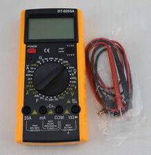 LCD Digital Multimeter DT-9205A Voltage Current Resistance Diod Capacitor Tester