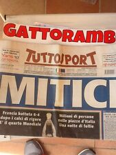 Italia Campione Del Mondo 2006  - Tuttosport