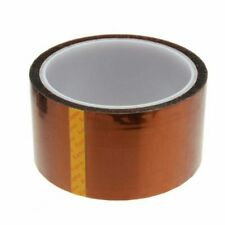 50mm 5cm X 30m Kapton Tape Sticky High Temperature Heat Resistant Polyimide