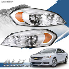 Clear Lens Amber Corner Headlights Fit For 06 13 Chevy Impala06 07 Monte Carlo Fits 2006 Impala