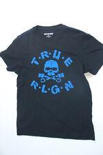 New True Religion Men Logo Black    Shirt 2XL XXL XXLARGE