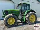 2005 JOHN DEERE 7520 TRACTOR, CAB, 4X4, 540 PTO, 3 REMOTES, HEAT A/C, 1937 HOURS