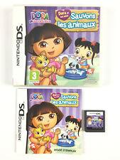 Dora Et Ses Amis Sauvons Les Animaux DS / Jeu Sur Nintendo DS, 3DS, 2DS Complet