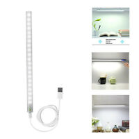 USB 30CM 6W LED Rigid Strip Hard Bar Light  Tube Lamp DC5V +Touch Switch