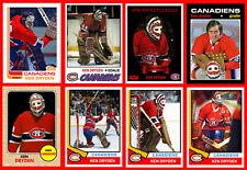 KEN DRYDEN 9 Different Retro Hockey Card Style Photo Cards + Fridge Magnet BONUS