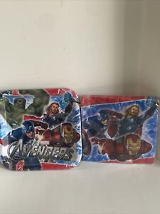 The Avengers Napkins 16 Per Package & 8 Count Plates Birthday Party Supplies New