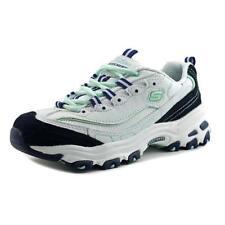 Zapatillas deportivas de mujer Skechers de tacón medio (2,5-7,5 cm) de color principal blanco