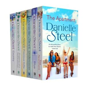 Danielle Steel 6 Books Collection Set Inc Blue, Undercover, Precious Gifts...