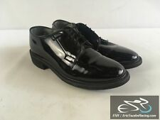 Bates Uniform Footwear Men's Black High Gloss Dress Work Shoes US Size 8