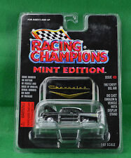 Racing Champions Mint Edition 1957 Chevy Bel Air #25 Black Emblem Stand 1996