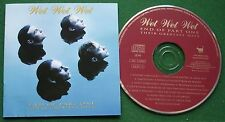 Wet Wet Wet End of Part One Their Greatest Hits Angel Eyes More Than Love + CD