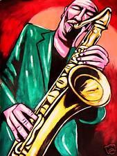 MICHAEL BRECKER PRINT poster jazz tenor saxophone nearness of you cd rare silk
