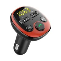Car Bluetooth Wireless FM Transmitter Radio Adapter MP3 Player Kit Car Charger