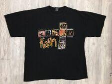 Vtg Korn Untouchables Announcment Giant Tag T-Shirt Size XXL
