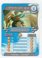 figurina - CARD GORMITI - MYSTICA BECCO D'ACCIAIO