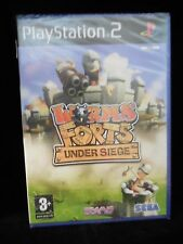 Worms Forts:Under Siege para playstation 2