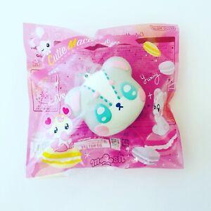 Ibloom Macaron Squishy Cutie Harajuku Bear Macaron Macaroon Mac Squishy NEW