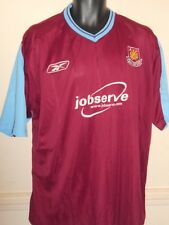 West Ham United Home Rebook Shirt (2003/2005) xl men's #825