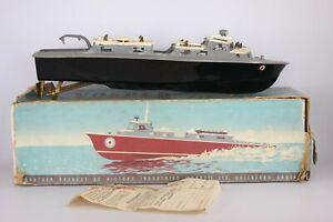 Vintage Vosper Electric Boat, Victory Industries, RAF Electronic Tender (AN_696)