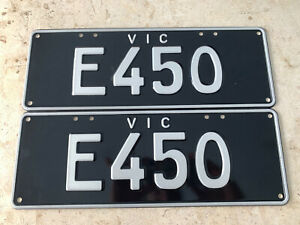 E450 Mercedes Benz Personalizes Victorian Number Plates AMG Merc Vic E 450