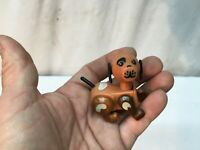 Made In Hong Kong Dog Puppy Movable Parts Head Legs. Plastic Toy
