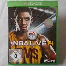 Xbox one-Microsoft ► EA sports NBA Live 14 ◄ 2014 | dt. version | excellent état