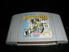 Excitebike 64 (Nintendo 64, 2000) Tested and Works