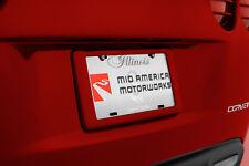 GM Rear License Plate Frame Holder - Victory Red (2005-2013 C6 Corvette)