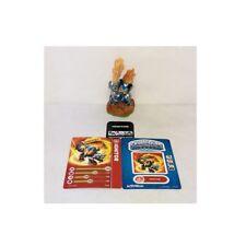 SKYLANDERS SPYRO'S ADVENTURE IGNITOR FIGURE TRADING CARD & STICKER SHEET w/ CODE