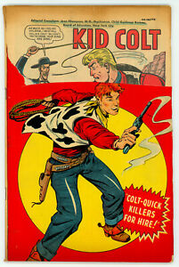 JERRY WEIST ESTATE: KID COLT #3 (Marvel 1948) title stripped NO RES