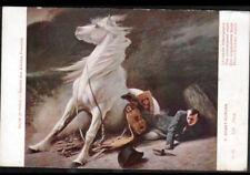 ART PEINTURE / NAPOLEON Accident de CHEVAL illustré par E. DEBAT-PONSAN