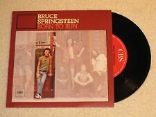 BRUCE SPRINGSTEEN BORN TO RUN SPANISH ISSUE 7""