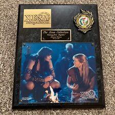Rare 1997 Xena Warrior Princess Limited Edition Plaque CAMPFIRE NIGHTS 81 of 250