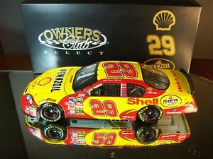 Kevin Harvick #29 Pennzoil Shell 2007 Chevrolet Monte Carlo 1:24 RCCA Club 1,500