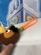 """2.5"""" Disney Winnie The Pooh Owl Keyring Bag Charm Clip Soft Toy Plush Teddy"""