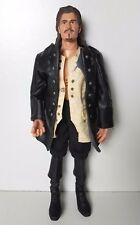 """Pirates of the Caribbean Dead Mans Chest Will Turner 12"""" Talking Doll Disney"""