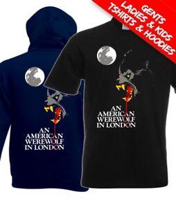 An American Werewolf In London Horror Movie T Shirt / Hoodie