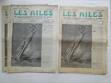 AILES 1940 972 GUERRE WWII AUTOGIRE FIESELER 156 RALLYE MIAMI AVIATION PRIVEE