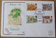1986 Cotswold GB First Day Cover with Special Postmark -  Medieval Life