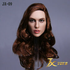 Figure 1/6 Gal Gadot Wonder Woman Head Sculpt Model JX-09 Fit 12'' Action