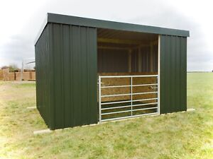 Metal Mobile Field Shelter 4 x 3m