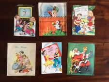 Vintage Lot Spanish Language Greeting Cards CHRISTMAS Birthday Pop Ups Crafts
