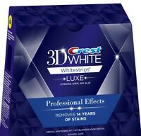 Crest 3D white Whitestrips Professional Effects 20 Strips 10 Pouch, No BOX 2021